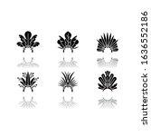 brazilian carnival hat drop...   Shutterstock .eps vector #1636552186