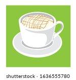 illustration vector coffea... | Shutterstock .eps vector #1636555780