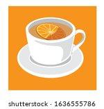 illustration vector coffea... | Shutterstock .eps vector #1636555786