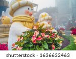 christmas composition with...   Shutterstock . vector #1636632463