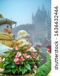 christmas composition with...   Shutterstock . vector #1636632466