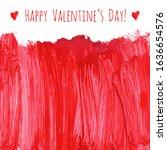 happy valentine's day  red... | Shutterstock .eps vector #1636654576