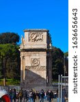 Arch Of Constantine Is A...