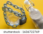 A Glass Of Water Entwined In A...