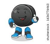 Ice Hockey Ball Robot Humanoid...