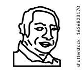 people icon in trendy flat... | Shutterstock .eps vector #1636823170