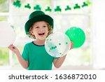 Family Celebrating St. Patrick...