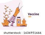 vector illustration medical... | Shutterstock .eps vector #1636951666