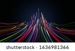 data connection colorful light... | Shutterstock .eps vector #1636981366