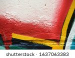 Colorful Graffiti Texture On...