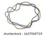 Holiday Or Mardi Gras Beads...