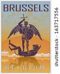 Brussels Vintage Poster In...
