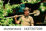 Senior Man Gardening In The...