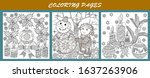 coloring pages. coloring book...   Shutterstock .eps vector #1637263906