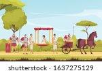 ancient roman people gladiators ...   Shutterstock .eps vector #1637275129