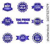 blue vintage badge for... | Shutterstock .eps vector #1637327479