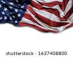 united states of america flag... | Shutterstock . vector #1637408800