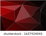 vector abstract triangulated... | Shutterstock .eps vector #1637424043