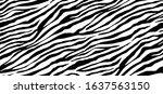 seamless vector. black and... | Shutterstock .eps vector #1637563150