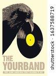 Vinyl Album Launch Gig Poster...