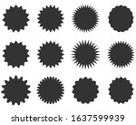 set of sale sticker  price tag  ... | Shutterstock .eps vector #1637599939