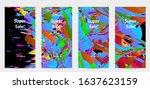 abstract social media template... | Shutterstock .eps vector #1637623159
