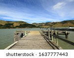 Pigeon Bay 20 km north-west of Akaroa. It was settled in the 1840s, before Christchurch was founded, by the Hay and Sinclair families.