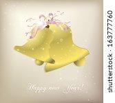 bell postcard | Shutterstock . vector #163777760