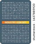 industrial and energy vector...   Shutterstock .eps vector #1637885920