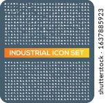 industrial and energy vector... | Shutterstock .eps vector #1637885923