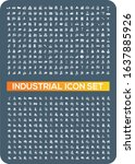 industrial and energy vector...   Shutterstock .eps vector #1637885926