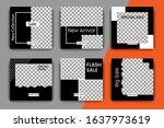 modern promotional square web... | Shutterstock .eps vector #1637973619