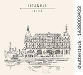Istanbul  Turkey. Haydarpasa...