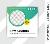 social media pack. business... | Shutterstock .eps vector #1638041380