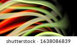 abstract silk smooth lines on... | Shutterstock .eps vector #1638086839
