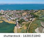 Aerial view of Yarmouth, Isle of Wight