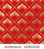 japanese pattern | Shutterstock .eps vector #163816160