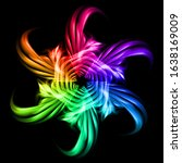 raster version. abstract image... | Shutterstock . vector #1638169009
