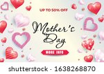 mother's day sale background... | Shutterstock .eps vector #1638268870