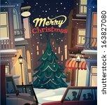 City Background. Merry...