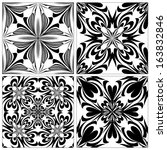 Set Of Baroque Tiles With...