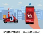 fast and free delivery by...   Shutterstock .eps vector #1638353860