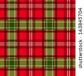 christmas tartan. vector...   Shutterstock .eps vector #163845704