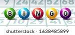 Bingo Or Lottery Balls On Bing...