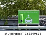 charging station for electric... | Shutterstock . vector #163849616