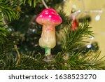 Glass Mushroom Fly Agaric   Ne...