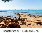 Beautiful Azure Sea And The...