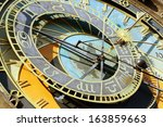 Detail Of Astronomical Clock...
