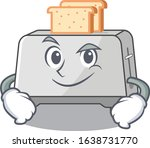 cool bread toaster mascot... | Shutterstock .eps vector #1638731770