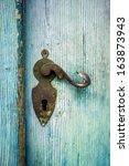 Antique Doorknob On A Light...